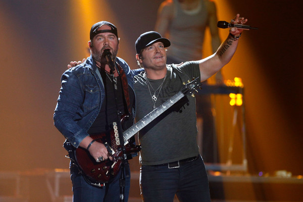 Photo of Lee Brice and Jerrod Niemann by Bob Levey/Getty Images North America