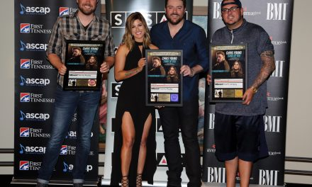 """Chris Young & Cassadee Pope Celebrate No. 1 Hit """"Think Of You"""" with Party in Nashville"""