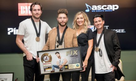 Chris Lane Celebrates First No. 1 with Formal Gathering in Nashville