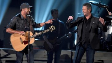 Blake Shelton and Luke Bryan ACM Awards Celeb Secrets Country