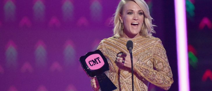 Carrie Underwood 2016 CMT Awards Celeb Secrets Country