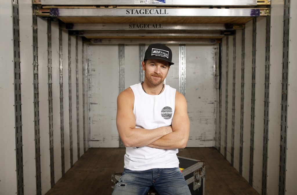 Kip Moore poses for a portrait at the 4th ACM Party For A Cause Festival on April 3, 2016 in Las Vegas, Nevada. (Photo by Isaac Brekken/Getty Images for ACM)