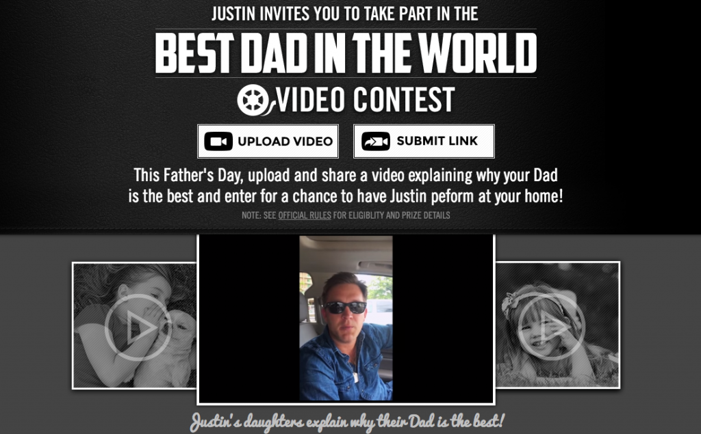 Justin Moore Father's Day