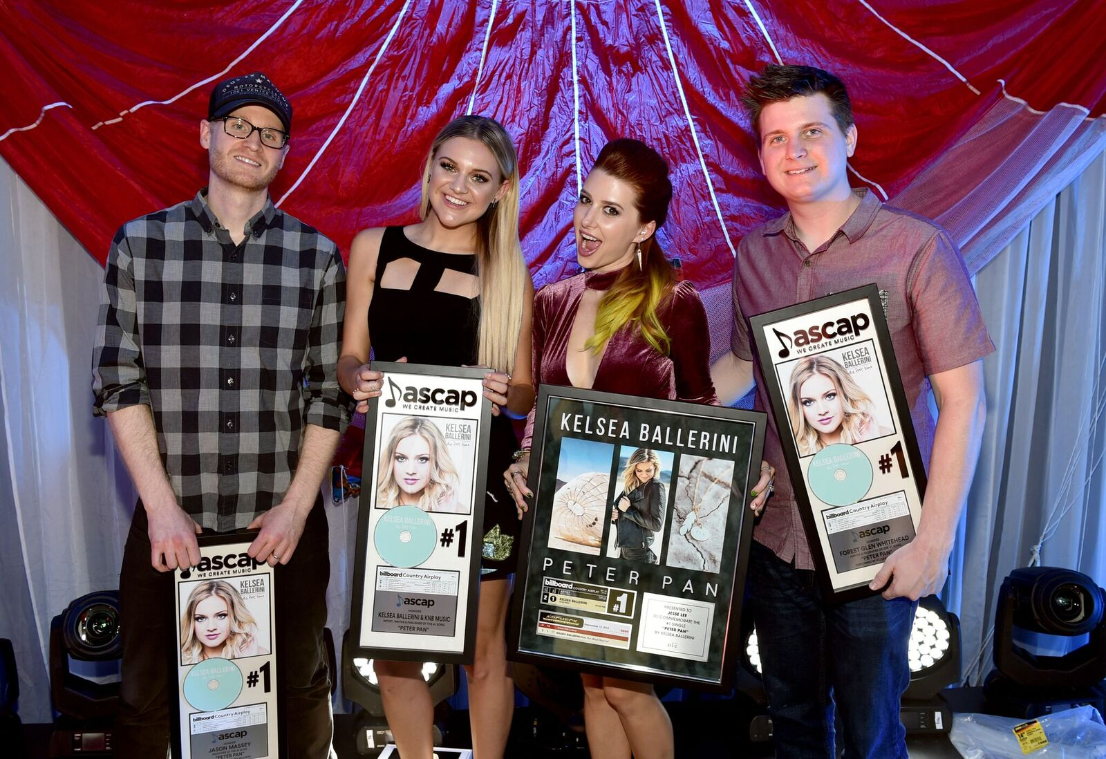Jason Massey, Kelsea Ballerini, Jesse Lee, Forest Glen Whitehead